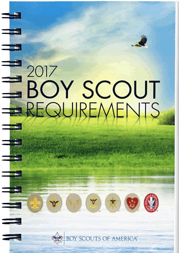 2017 Boy Scout Requirements Book