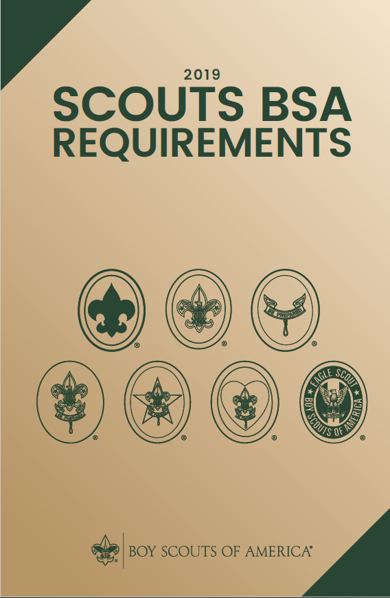 Scoutbook - 2019 Scouts BSA Merit Badge Requirements